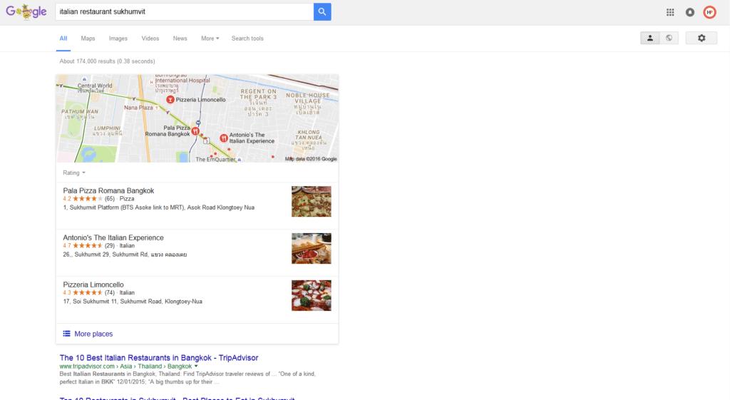 Restaurant marketing bangkok
