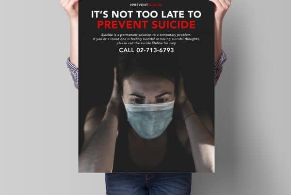 Public Service Announcment: Prevent Suicide Covid 19