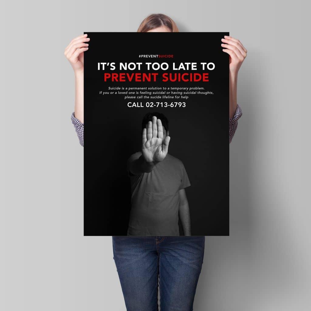 Covid 19 Prevent Suicide Campaign
